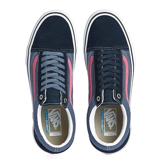 Vans Old Skool Pro Shoes 39 EU Sky Captain Pink: