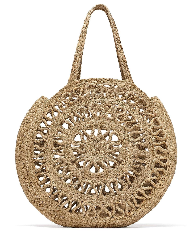 Zara - Bolso mochila para mujer Beige beige Medium: Amazon.es: Zapatos y complementos