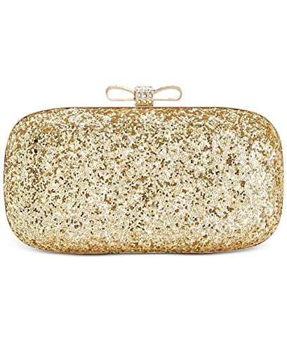 ed1d817b355 Image Unavailable. Image not available for. Color: INC International  Concepts Evie Clutch, Gold