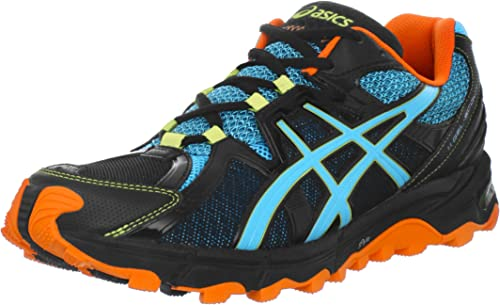 Amazon.com: Asics Hombre gel-scout Trail Running Shoe, negro ...