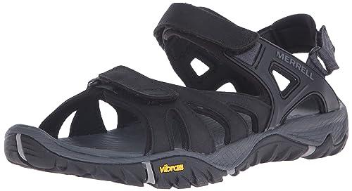 1d85c3792944 Merrell Men s All Out Blaze Sieve Convertible Water Sandal  Amazon ...