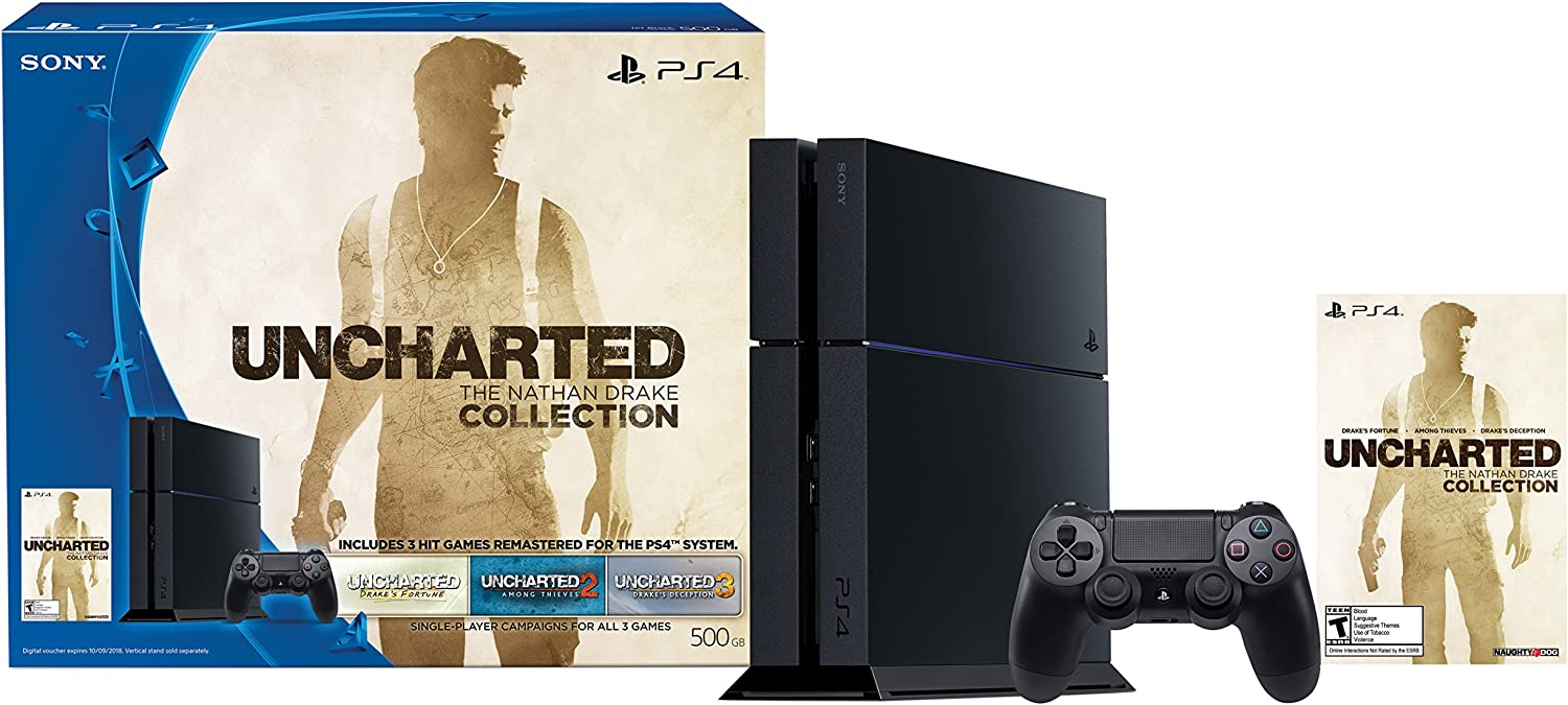 Sony PlayStation 4 500 GB Uncharted: El Nathan Drake Colección ...