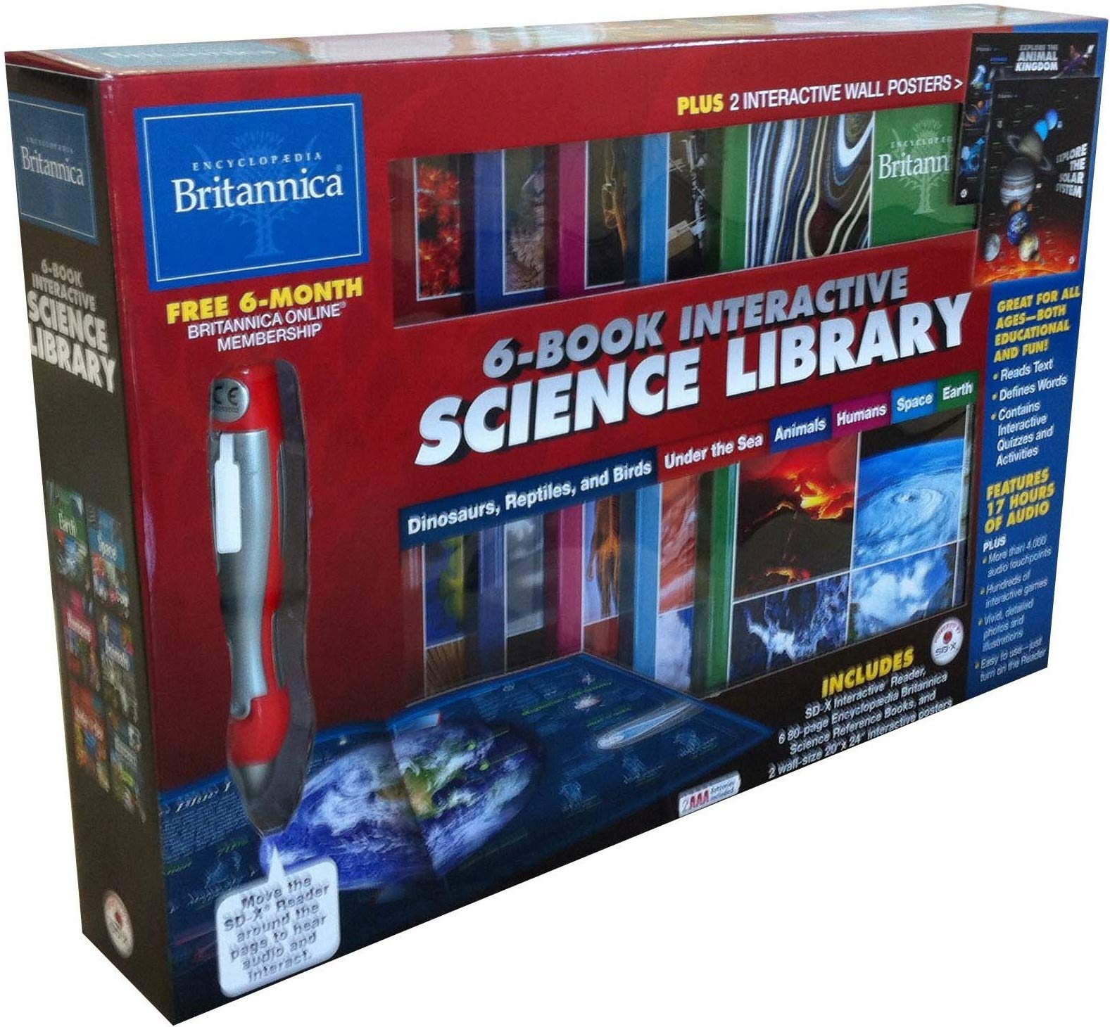 Encyclopaedia Britannica® 6-Book Interactive Science Library