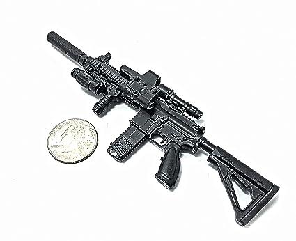 Buy 1/6 Scale HK416 Assault Rifle US Army Heckler & Koch Gun Model
