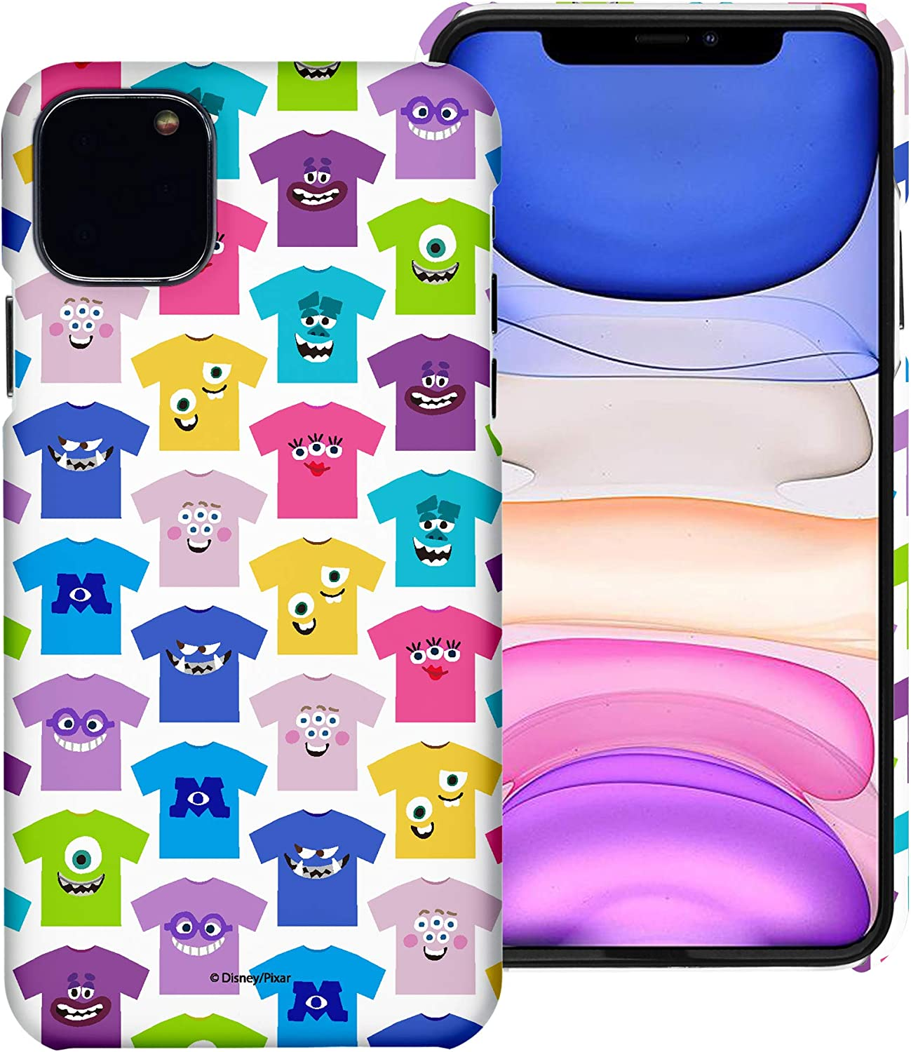 WiLLBee Compatible with iPhone 12 Pro Case/Compatible with iPhone 12 Case (6.1inch) Monsters University inc Thin Hard Matte Surface Cover - Pattern Shirts