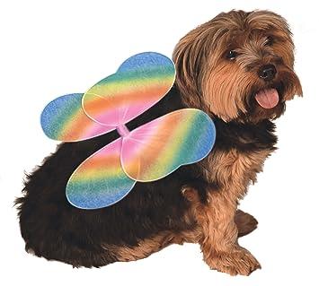 Rubieu0027s Official Pet Dog Costume Rainbow Fairy Wings - Small/Medium  sc 1 st  Amazon UK & Rubieu0027s Official Pet Dog Costume Rainbow Fairy Wings - Small/Medium ...
