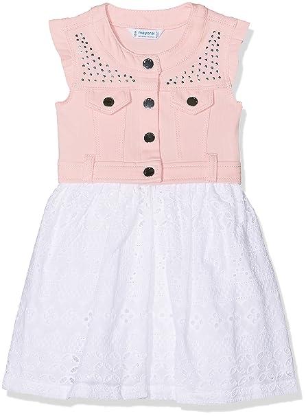 Mayoral 3976, Vestido para Niñas, (Rosa), 4 años (Tamaño del Fabricante:4): Amazon.es: Ropa y accesorios