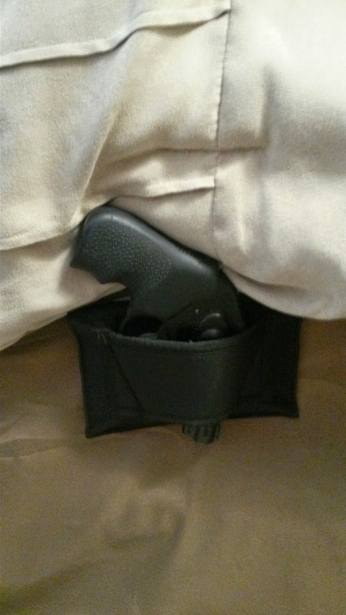 Don't Tread on Me Conceal and Carry Holsters BH1 DTOM Bedside, Bed Side Holster-Ambidextrous by Don't Tread on Me Conceal and Carry Holsters