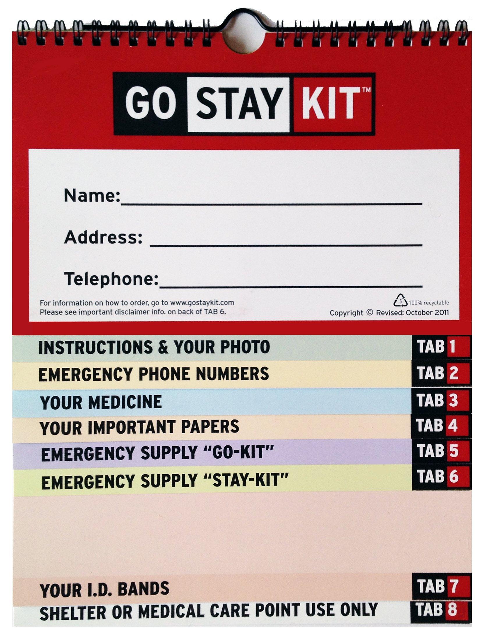 Emergency Preparedness Go Stay Kit (Individual Edition) pdf epub