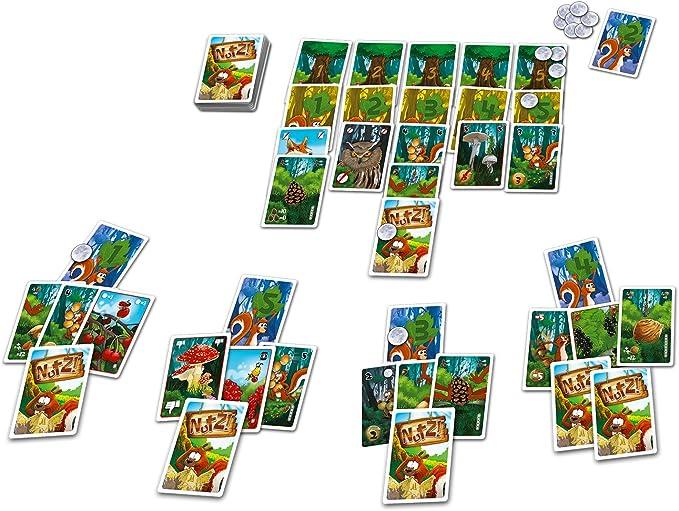 Blue Orange Games BLU90481 Nutz - Juego de Mesa [Importado de Alemania]: Amazon.es: Juguetes y juegos