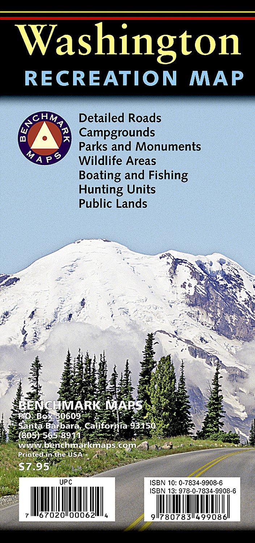 Read Online Washington Recreation Map ebook