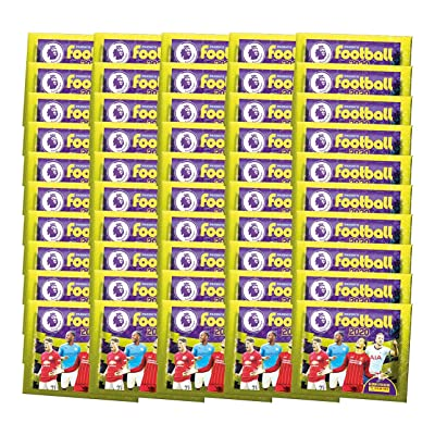 2020-20 Panini Premier League Stickers - 50-Pack Set (5 Stickers per Pack) (Total of 250 Stickers): Arts, Crafts & Sewing