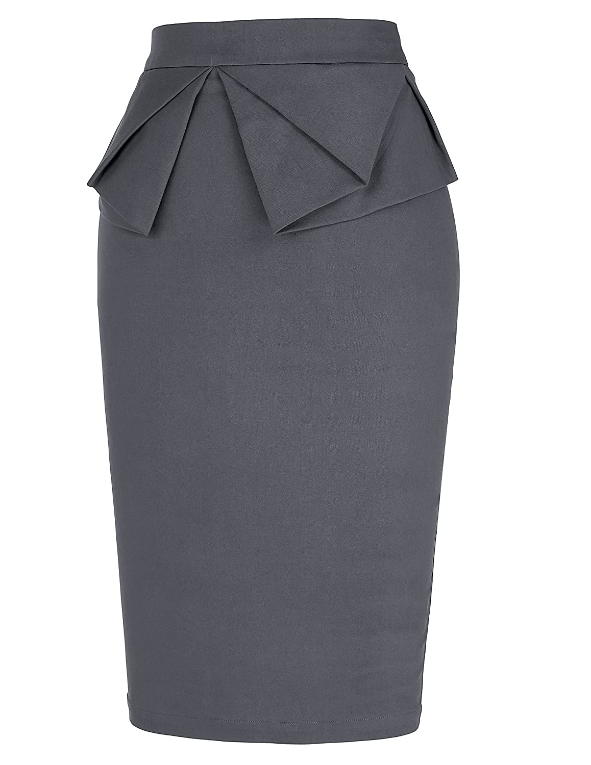293b09bd568f PrettyWorld Vintage Dress Women's Wear to Work Stretchy Office Pencil Skirt  at Amazon Women's Clothing store: