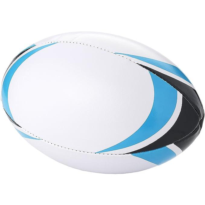 Bullet - Pelota de rugby modelo Stadium (28 x 18 cm) (Blanco/Azul ...