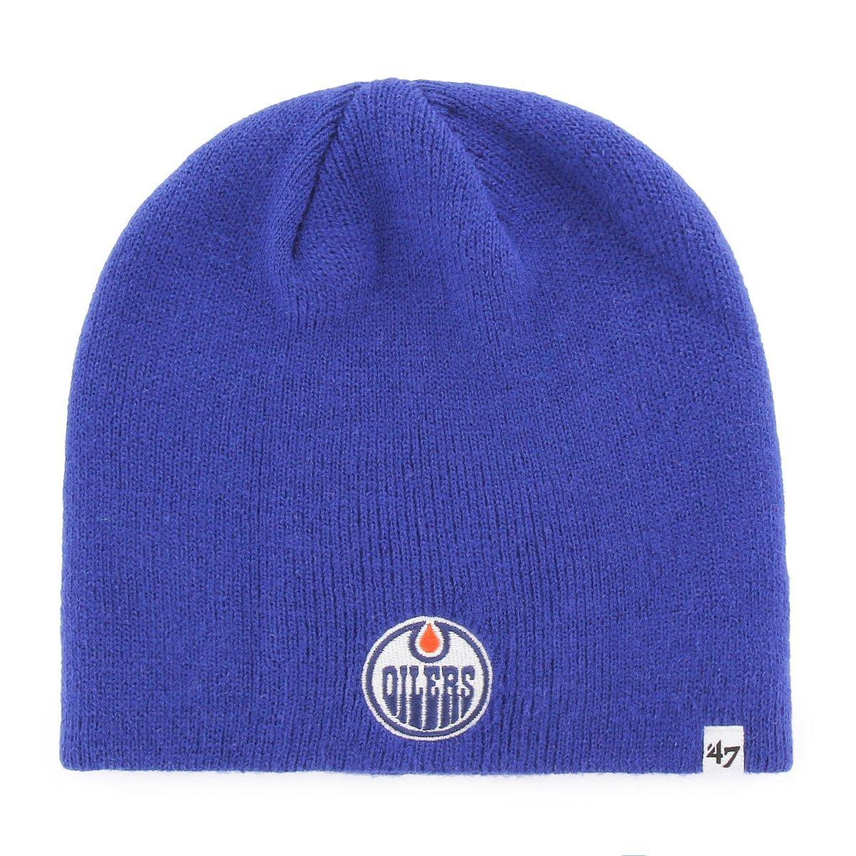 '47 Brand Edmonton Oilers Beanie NHL Wintermü tze Blau