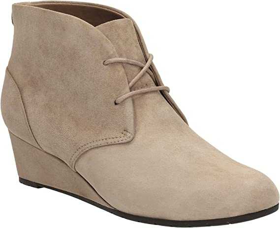 Wedge Boots Vendra Peak Pebble Suede