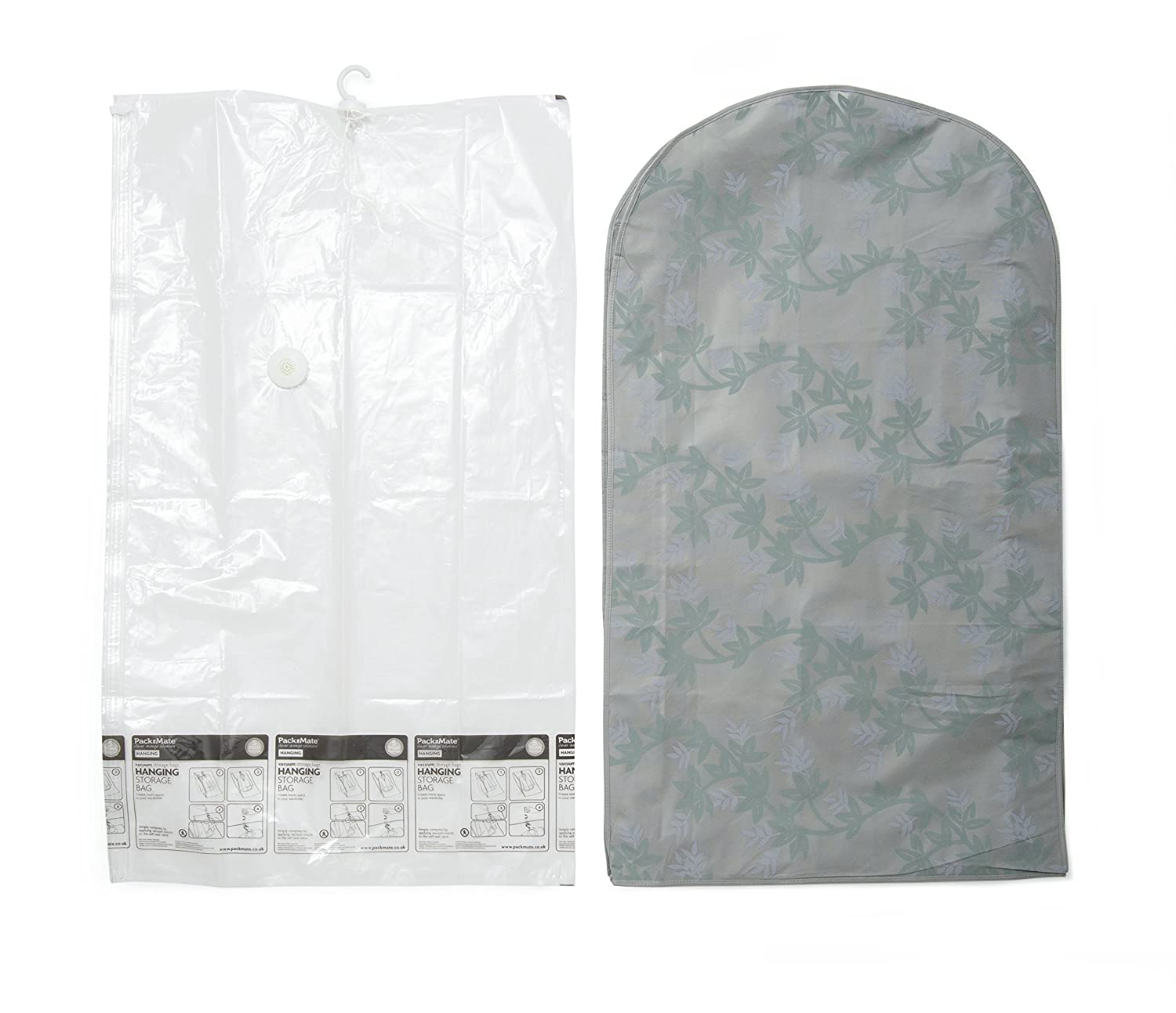b85063d74c Packmate ® Extra Large Hanging Vacuum Storage Bags A Huge Space Saver  Suitable For Suits