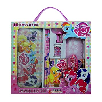 Party Propz My Little Pony Stationary Set For Birthday Return Gifts Or Favours Of 6 Amazonin Toys Games