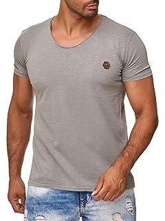 76152b8b6702 Redbridge Herren T-Shirt Oil Washed Design Cuts Rundhals  Amazon.de ...