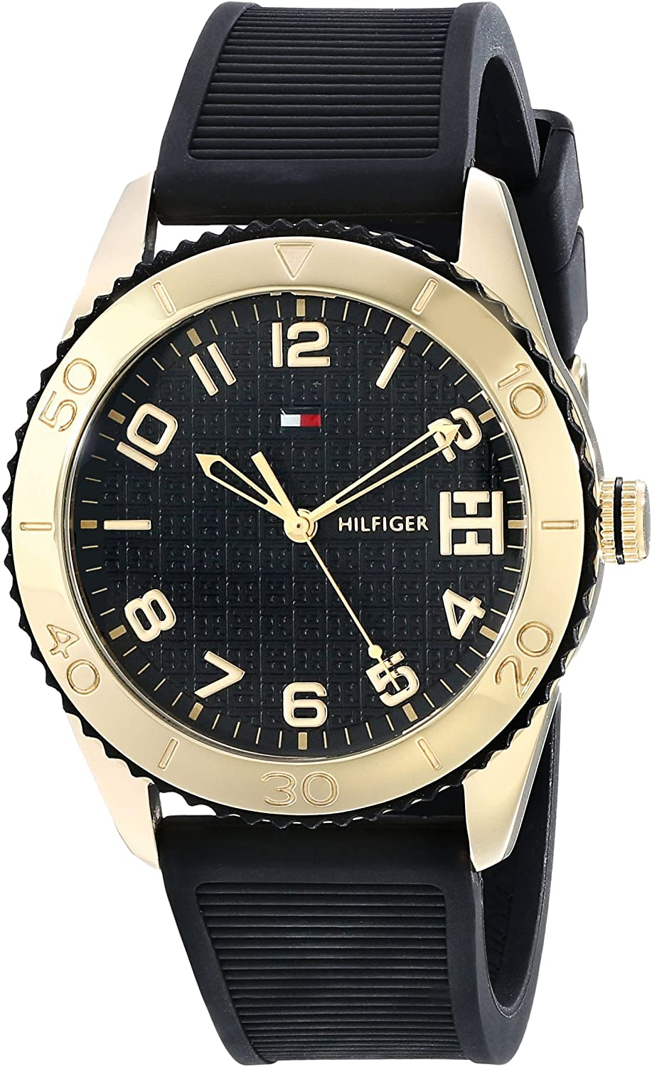 Tommy Hilfiger Women s 1781120 Sport Gold-Tone Stainless Steel Watch