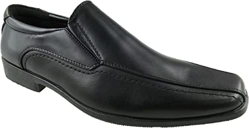 BATA Mens Faux Leather Slip on Casual