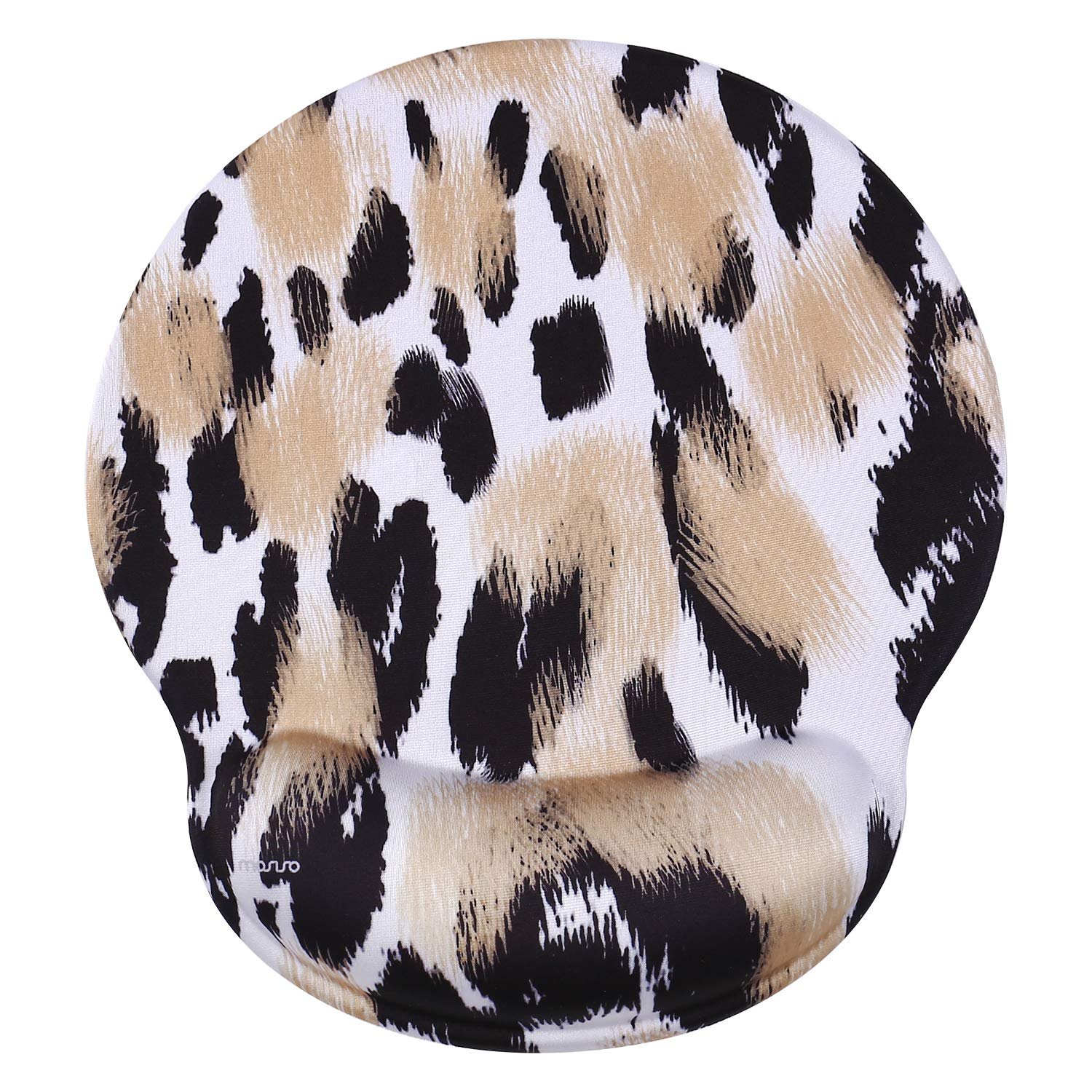 Mousepad MOSISO Mouse Pad With Wrist Rest, Leopard Print