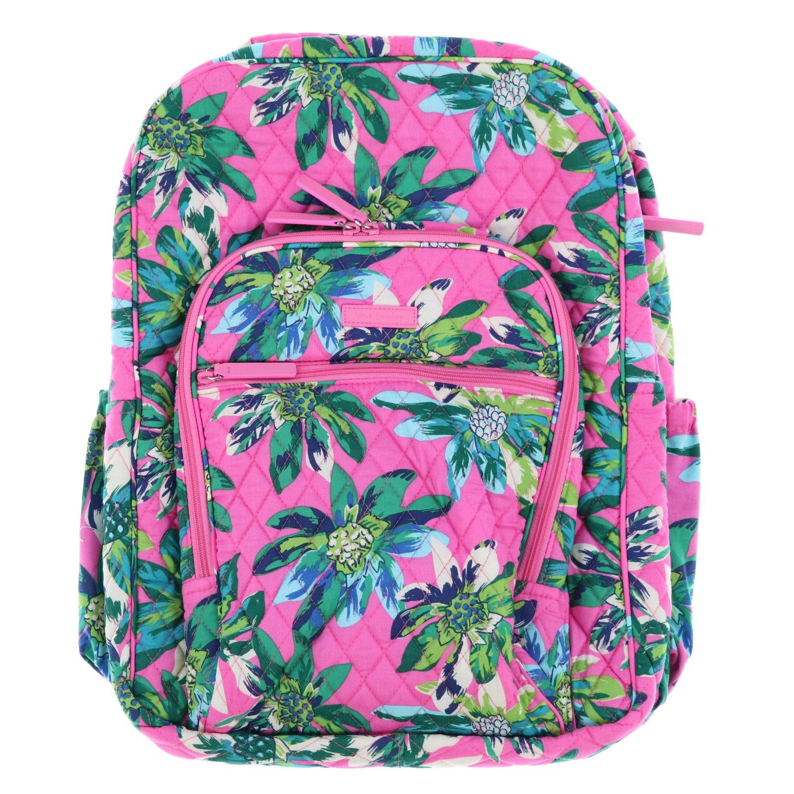 Vera Bradley Large Campus Backpack (Tropical Paradise)