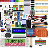 Freenove Ultimate Starter Kit for Raspberry Pi 4 B 3 B+, 434 Pages Detailed Tutorials, Python C Java, 223 Items, 57…