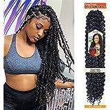 Toyotress Passion Twist Hair Water Wave Crochet Braids for Passion Twist Crochet Hair Passion Twist Braiding Hair Hair…