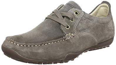 Geox U DRIVE SNAKE N U2202N00022C6029 - Mocasines de cuero para hombre: Amazon.es: Zapatos y complementos