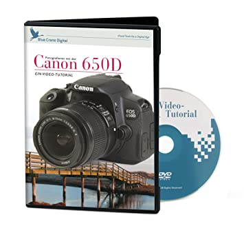 Kaiser Video-Tutorial für Canon 650D, 700D (DVD, deutsch)