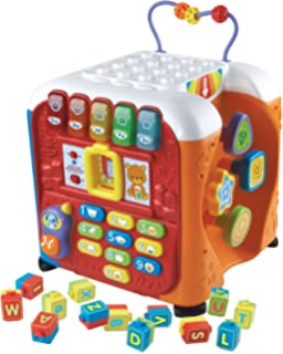 Amazoncom Vtech Ultimate Alphabet Activity Cube Toys Games