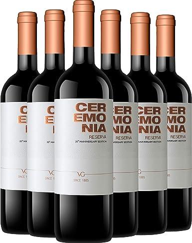 Ceremonia Reserva de Autor Ed. 20 Aniversario caja 6 botellas 75 cl.: Amazon.es: Alimentación y bebidas