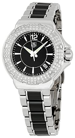 40eb4b57750 Image Unavailable. Image not available for. Color  TAG Heuer Women s  WAH1214BA0859 Formula 1 Ceramic Watch