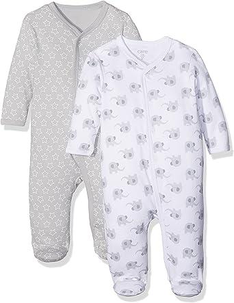Care Pijama Unisex bebé, Pack de 2: Amazon.es: Ropa y accesorios