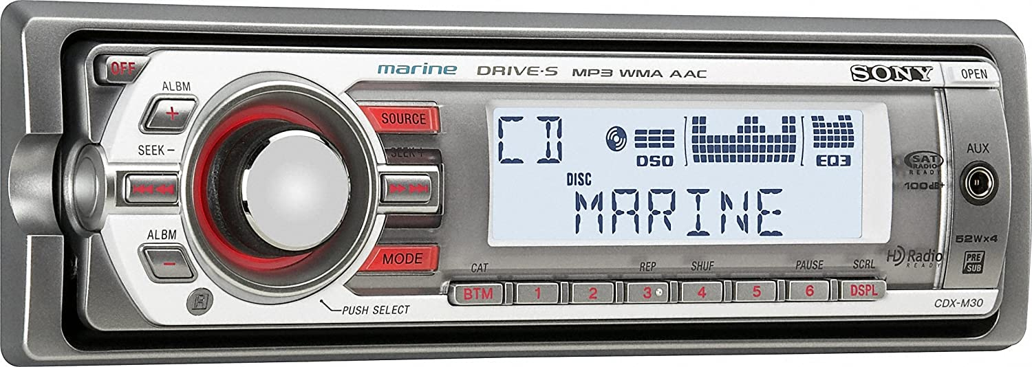 Wiring Diagram For Sony Cdx M30 Marine Stereo - Wiring