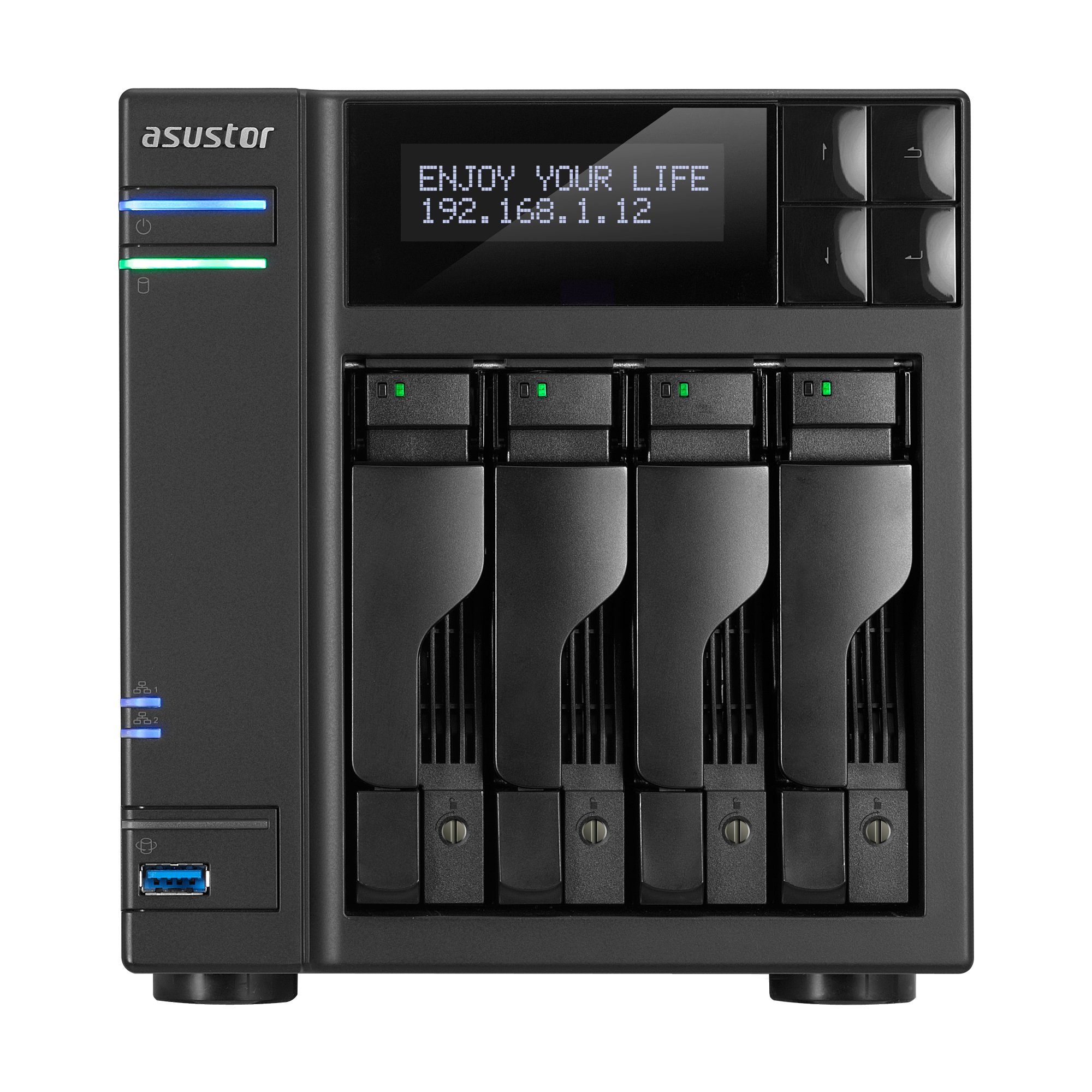 ASUSTOR AS6204T 4-Bay INTEL Quad-Core NAS by Asustor (Image #1)