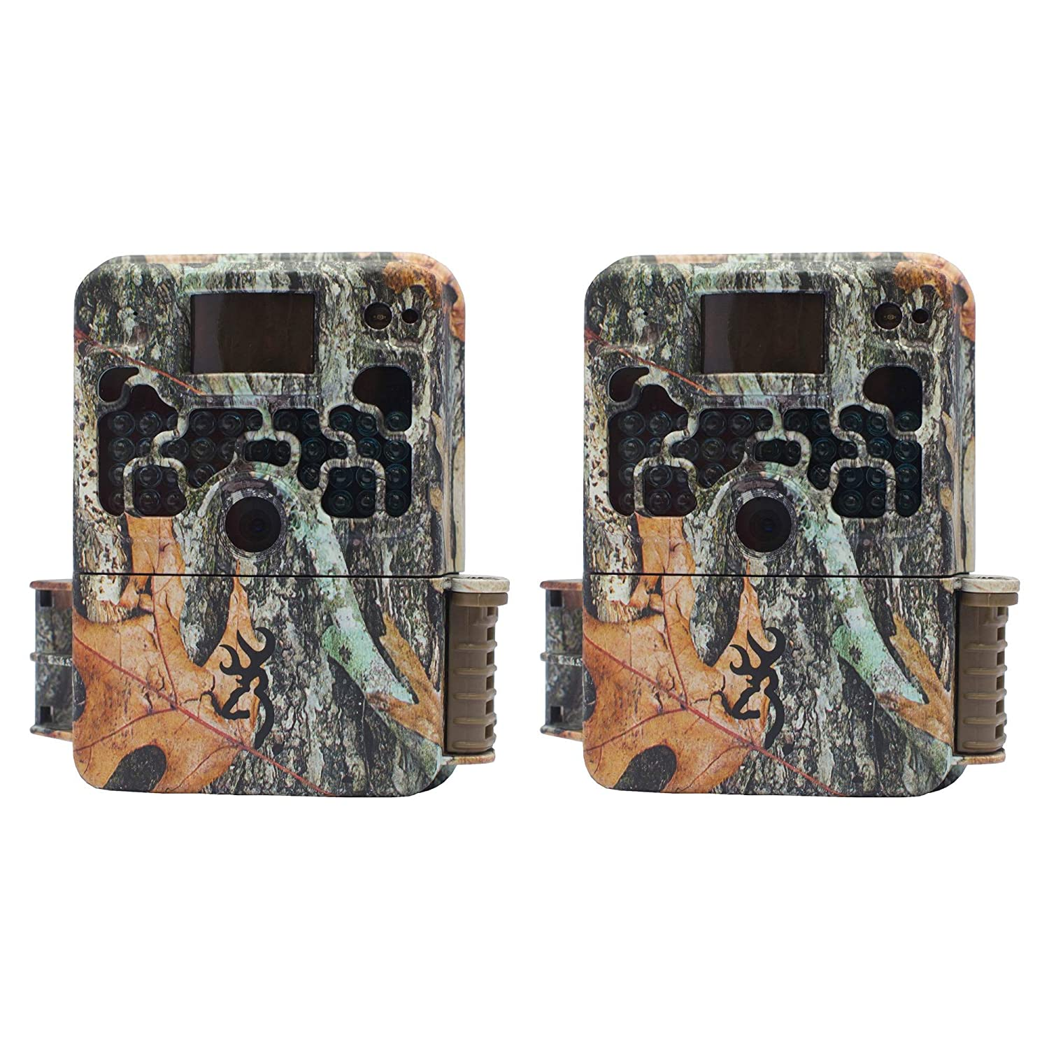 2 Browning STRIKE FORCE HD 850 Micro Trail Game Camera 16MP BTC5HD850