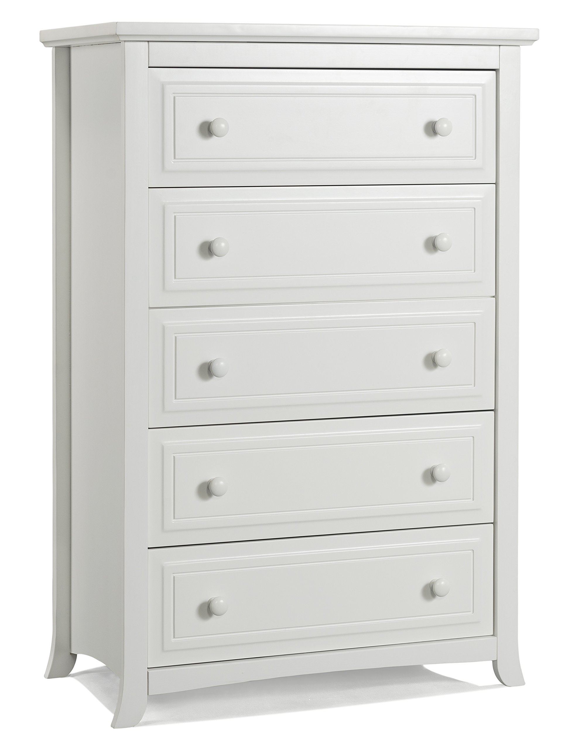 Graco Kendall 5 Drawer Chest, White