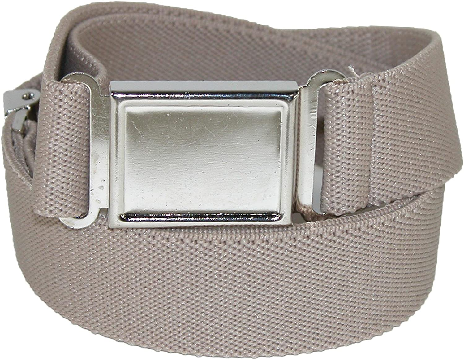 CTM Kids' Adjustable Elastic Belt with Magnetic Buckle (Pack of 3)