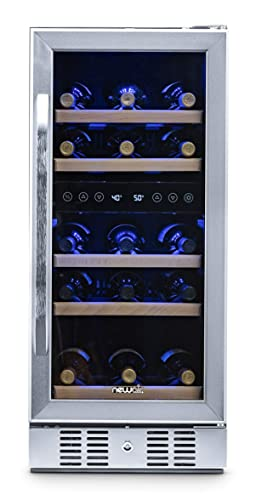 NewAir-AWR-290DB-Wine-Cooler,-29-Bottle,-Stainless-Steel