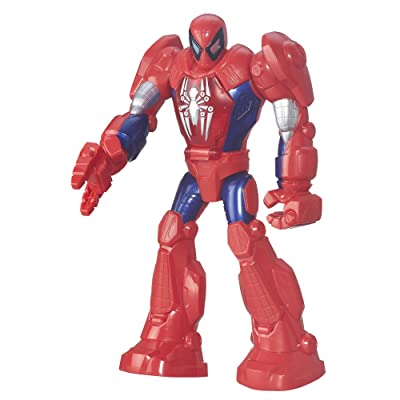 Playskool Heroes Marvel Super Hero Adventures Mech Armor Spider-Man: Toys & Games