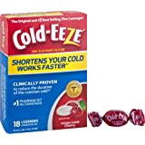 Cold-Eeze Cold Eeze Cold Remedy All Natural Cherry Flavor 18 Lozenges - 1 Pack - The original and #1 best-selling zinc lozenges
