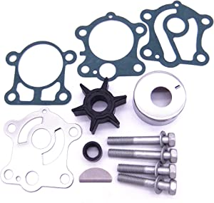 SouthMarine 6H4-W0078 6H4-W0078-00 Water Pump Kit for Yamaha 40HP 50HP Boat Outboard Motors