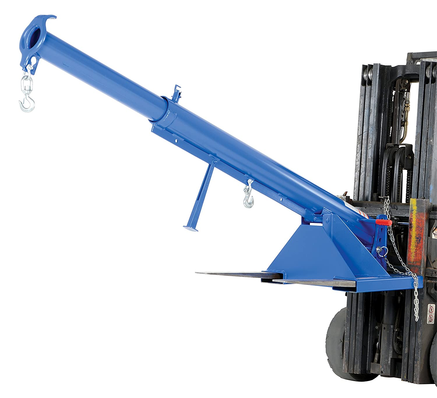Vestil Lm Obt 4 24 Orbit Telescoping Lift Boom 4000 Lb Capacity 24 Fork Pocket Center Overall Lxwxh In 32 X 86 625 X 27 6875 Overall Extended Length In 146 5 8 Blue Amazon Com Industrial Scientific
