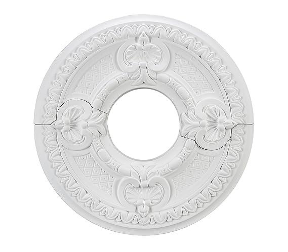Aspen Creative 20302 16 1 2 Diameter Ceiling Medallion 2 Piece Lighting Ceiling Fans Lighting Accessories Alumat Pl