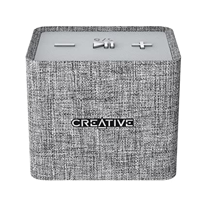 Creative NUNO MICRO Bluetooth Wireless Speaker - GREY (51MF8265AA001) [BY only Store Name- AIIPL_BLR]