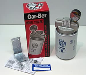General Oil 1603 11BV-RK Gar-Ber Spin-On Fuel Oil Filter