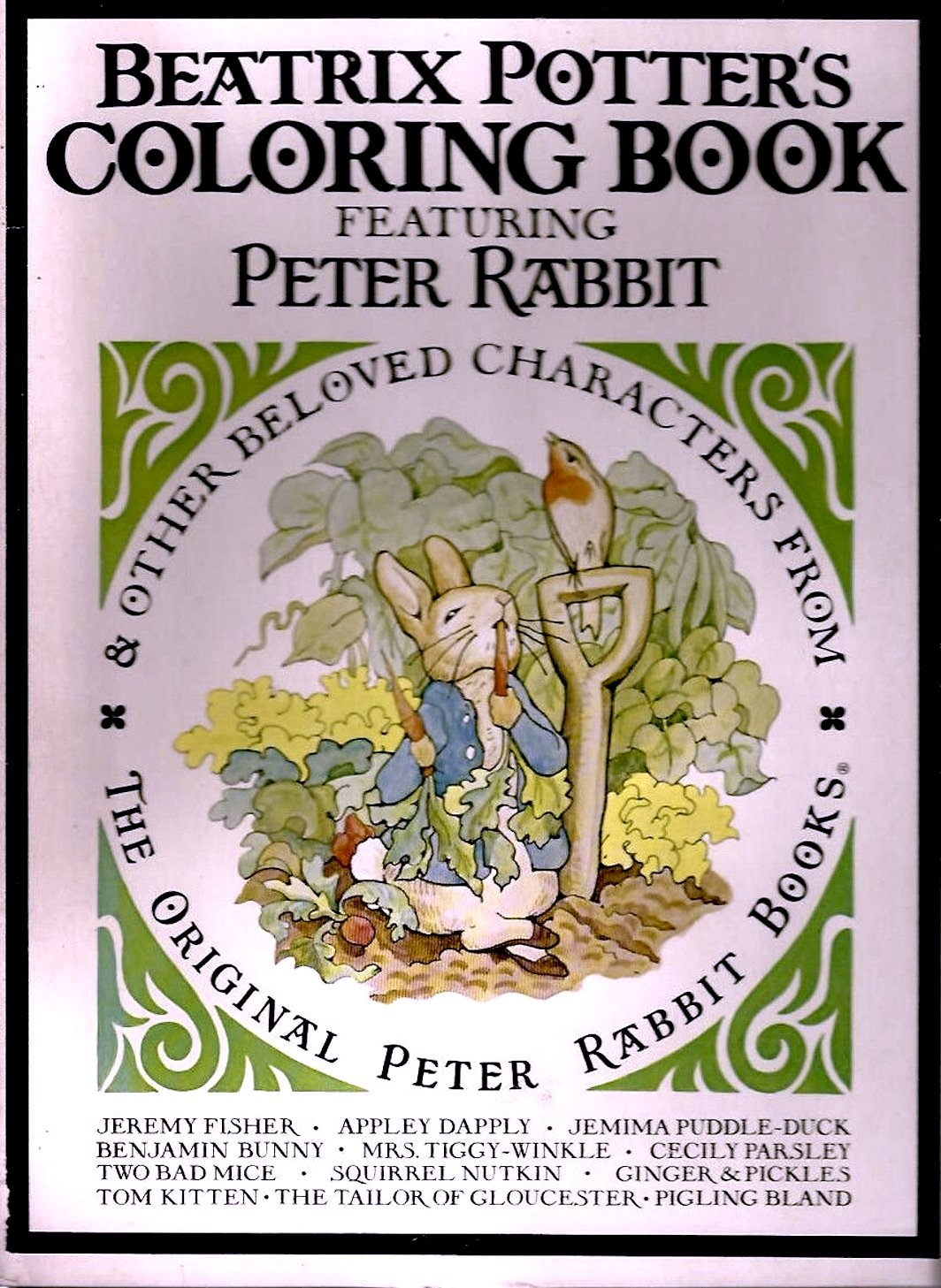 - Beatrix Potter's Coloring Book Featuring Peter Rabbit & Other