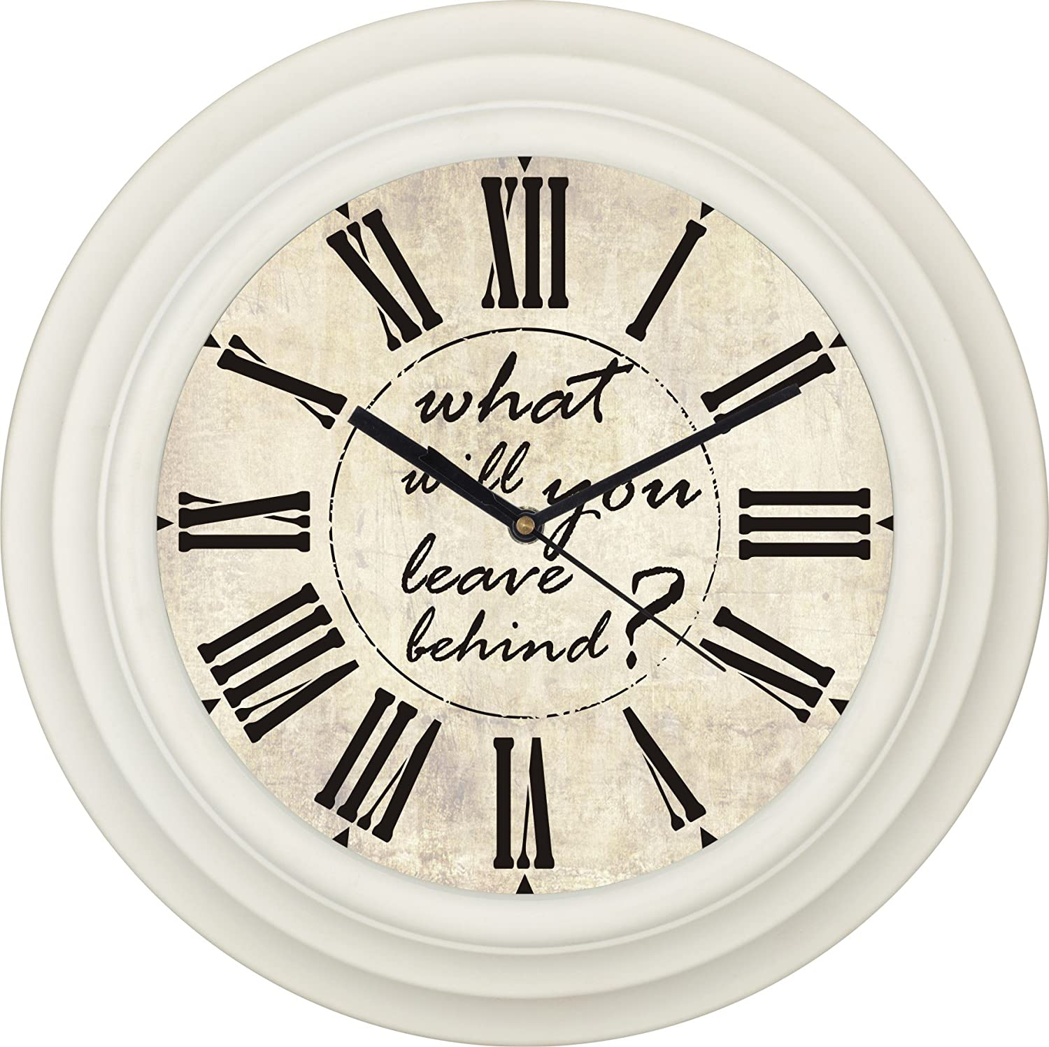 One Time Round Designer Wall Clock